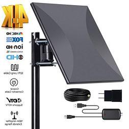 Omni-Directional Outdoor Amplified HD Digital TV Antenna 150