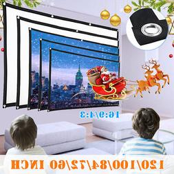 Outdoor Portable Foldable Movie Projector Screen 4:3 Project