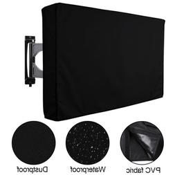 Outdoor TV Cover Fitted Waterproof Weatherproof Television P