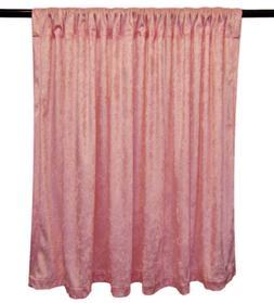 PANNE VELVET PINK Crush Velour Curtain Drape Panel Back Drop