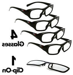 Passive 3D Glasses for LG, Panasonic, Toshiba, more Passive