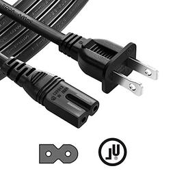 Chanzon 6Ft Polarized 7A AC Power Cord for Vizio E-M-Series