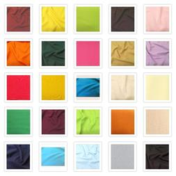 POLY POPLIN TABLE CLOTH OVERLAY DRAPING FABRIC 60 INCH WIDE