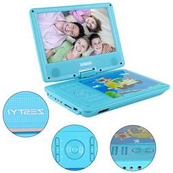 """Portable DVD Player for Kids, ZESTYI 9"""" Mobile DVD Player wi"""