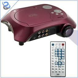 Portable Video Projector DVD Player TV USB TF 40ANSI 15W 20-