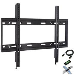 "Low Profile Fixed TV Wall Mount for 42""-90"" Flat Screen TVs"