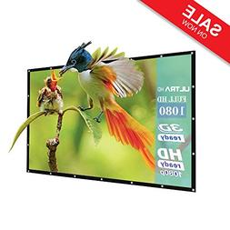 60-Inch outdoor Projector Screen Home Theater/Cinema or Pres