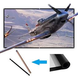 60 inch Projector Screen Portable Outdoor Projection Movies