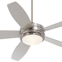 "60"" Casa Province Brush Nickel Outdoor Ceiling Fan"