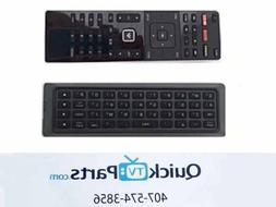 VIZIO Qwerty Dual Side Remote XRT500 with Backlight NEW