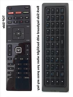New Qwerty Remote XRT500 with Back-light fit for VIZIO M602I