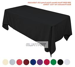 "Tektrum 60 X 84 INCH 60""X84"" RECTANGULAR POLYESTER TABLECLOT"