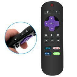 New Remote Control fit for Hitachi Roku TV with Netflix Hulu