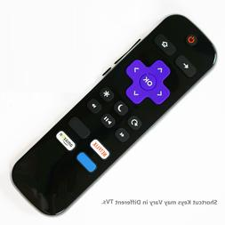 Remote Control for ROKU Built-in Smart TV