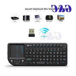 Rii Mini Wireless 2.4GHz Keyboard with Mouse Touchpad Remote