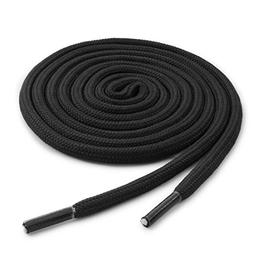 OrthoStep Round Athletic 60 inch Black Shoelaces - Durable a