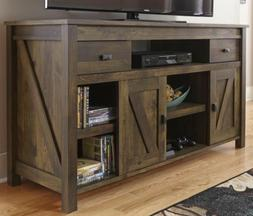"Rustic TV Stand Console Up To 60"" Barn Wood Farmhouse Home E"