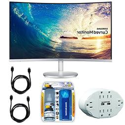 """Samsung CF591 Series 27"""" LED Curved Monitor  with Xtreme 6 O"""