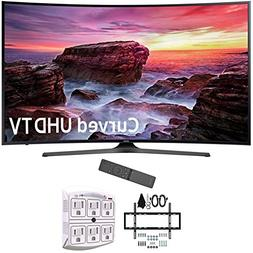 "Samsung 49"" Curved 4K Ultra HD Smart LED TV 2017 Model  with"