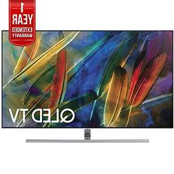 Samsung Flat 75-Inch 4K Ultra HD Smart QLED TV  with 1 Year