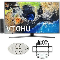 "Samsung UN55MU7000 54.6"" 4K Ultra HD Smart LED TV  w/ Wall M"