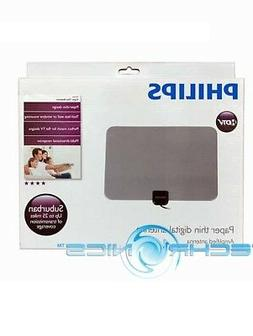 PHILIPS SDV5231 PAPER THIN AMPLIFIED DIGITAL TV ANTENNA NOIS