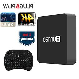 SUNNZO SK08 Smart TV Box Android 6.0 Amlogic S905, Streaming