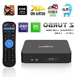 Smart TV Box Android 7.1 OS,2017 OTTBOX Z Turbo Amlogic S912