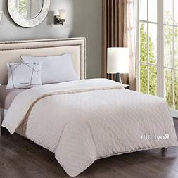 Royhom Soft Quilted Removable Duvet Covers for Weighted Blan