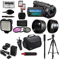 Sony FDR-AX53 4K Ultra HD Handycam Camcorder Video Camera +