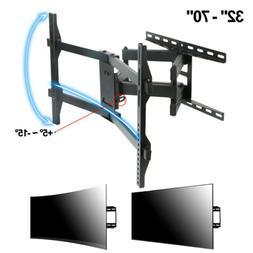 Strong Full Motion Tilt Swivel TV Wall Mount Bracket 37 70 4
