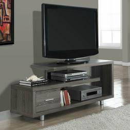 Monarch Stylish 60 Inch Modern Art Deco TV Stand with 1 Draw