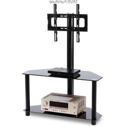 Swivel Corner TV Stand with Adjustable Mount for 32-55 inch