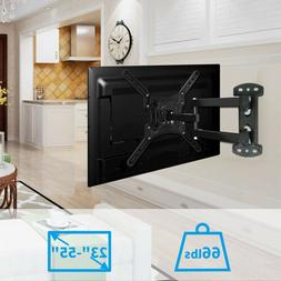 Swivel Strong Arm Full Motion TV Wall Mount Articulating Bra