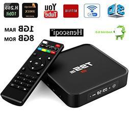 Henscoqi T95M TV Box Amlogic S905X Quad Core 1/8G HD 1080P 1
