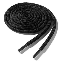 OrthoStep Thick Round Athletic 60 inch Black Shoe laces - Th