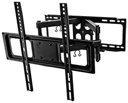 Mount-It! Full Motion TV Wall Mount with Tilt and Swivel, Fi