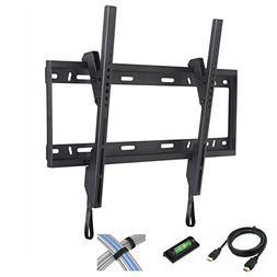 "Tilt TV Wall Mount for 37""-84"" Flat Screen TVs with 6' High-"