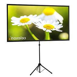 """celexon 80"""" Tripod Projector Screen Ultra Lightweight, 16:9"""