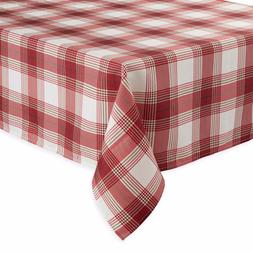 Benson Mills Tuscan Plaid Print Fabric Tablecloth