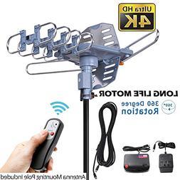 pingbingding Outdoor TV Antenna Digital Antenna 150 Mile Mot