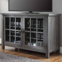 TV Console Stand Shelves Media Entertainment Furniture Stora
