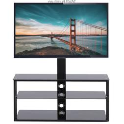 TAVR TV Stand Entertainment Center with Swivel Mount and Sto