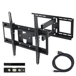 """30-65"""" TV Wall Bracket Tilt Swivel Universal LED LCD OLED Te"""