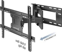 ONKRON TV Wall Mount Dual Articulating Arm for 40 to 60 inch