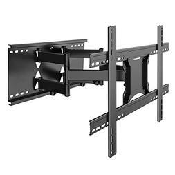 "TV Wall Mount Bracket Full Motion- Fits 16"", 24"" Wood St"