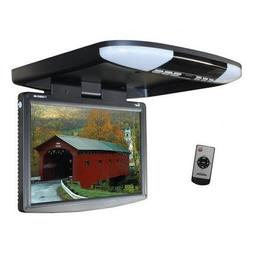 "Tview T1588IRBK 15.4"" Wide Screen LED Flip Down Monitor"