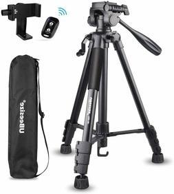 UBeesize 60-inch Camera Tripod, 5kg/11lb Load TR60 Portable