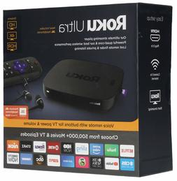 Roku Ultra | HD/4K/HDR Streaming Media Player Voice Remote