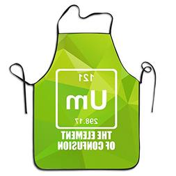 Um The Element Of Confusion Adult Apron